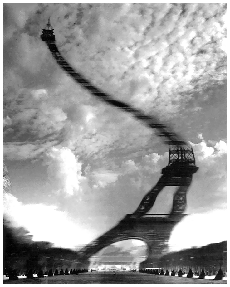 photo-robert-doisneau-tour-eiffel-distorsion-optique-1965