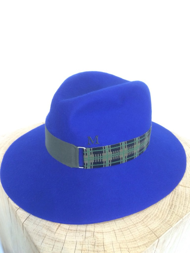 beaded tartan beaver-battina-klein blue-khaki-1