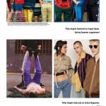 palm angels 海外magazine